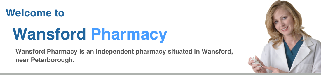 Welcome to Wansford Pharmacy. Wansford Pharmacy is an independent pharmacy providing NHS prescription medicines in Wansford, near Peterborough.