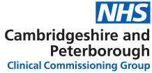 NHS Cambridgeshire and Peterborough Clinical Commissioning Group (CCG)